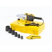 Denzel Аппарат для сварки пластиковых труб DWP-1500 (1500 Вт, 260-300 град., компл насадок, 20-63 мм)
