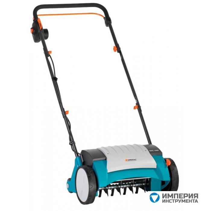 Скарификатор-аэратор газонный электрический Gardena EVC 1000