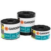 Бордюр черный Gardena 9 см, длина 9 м