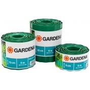 Бордюр зеленый Gardena 15 см, длина 9 м