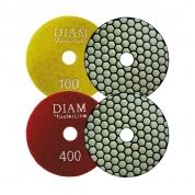 DIAM (ДИАМ) Алмазный гибкий шлифовальный круг MasterLine Dry(сухая) 100*2,0 №100