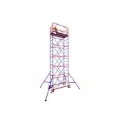 Zitrek Вышка-тура МЕГА-2 Н=12,4м (9 секций, со стабилизаторами)