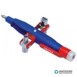 Штифтовый ключ для электрошкафов с индикатором наличия проводки под напряжением KNIPEX KN-001117