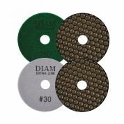 DIAM (ДИАМ) Алмазный гибкий шлифовальный круг ExtraLine Dry(сухая) 100*2,0 №400