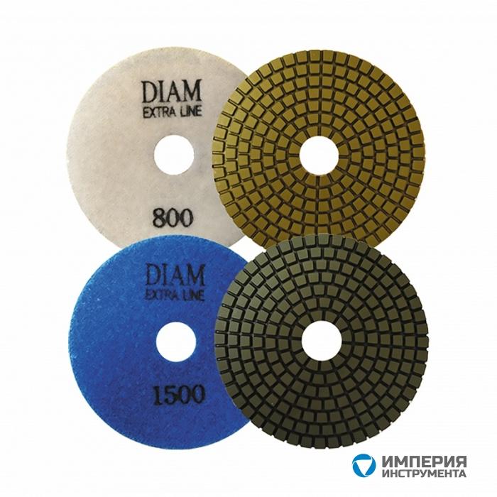 Алмазный гибкий шлифовальный круг Diam ExtraLine Wet(мокрая) 100*3,0 №800
