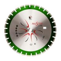 Сегментный алмазный круг DIAM ГРАНИТ Master Line 400*3,2*10*25,4/20