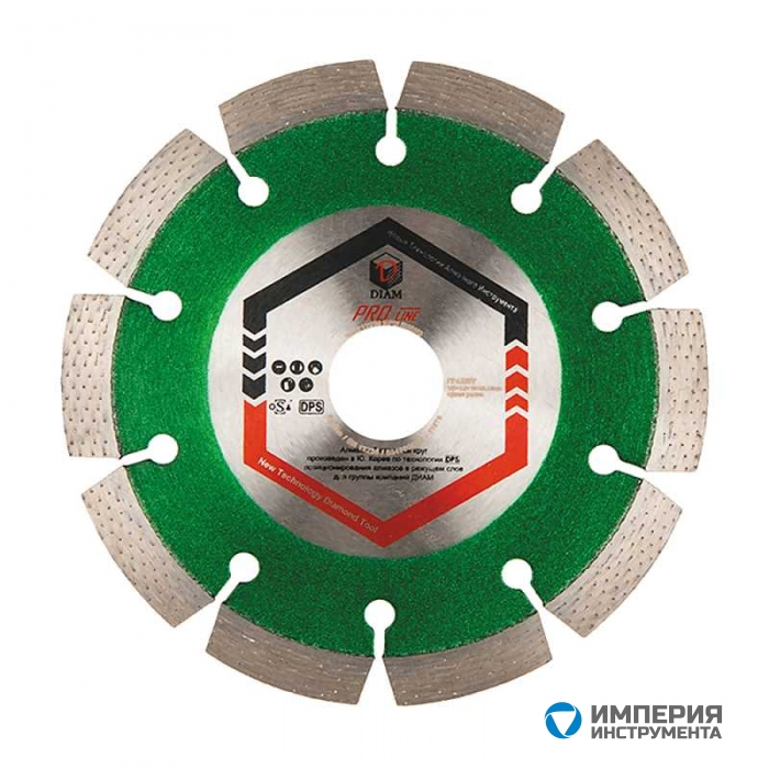 Алмазный cегментный круг DIAM ГРАНИТ ProLine LASER 350*3,2*10*32/25,4 (Lazer)
