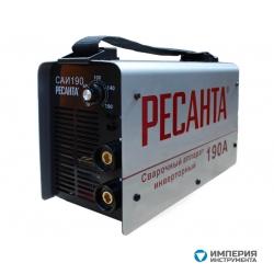 Сварочный инверторный аппарат Ресанта САИ-190