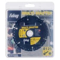 Алмазный диск Fubag Multi Master D125 мм/ 22.2 мм