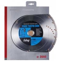 Алмазный диск Fubag Power Twister Eisen D300 мм/ 30-25.4 мм