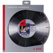 Алмазный диск Fubag BZ-I D350 мм/ 30-25.4 мм