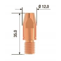 Контактный наконечник FUBAG M10х35 мм CuCrZr D=1.2 мм (25 шт.)