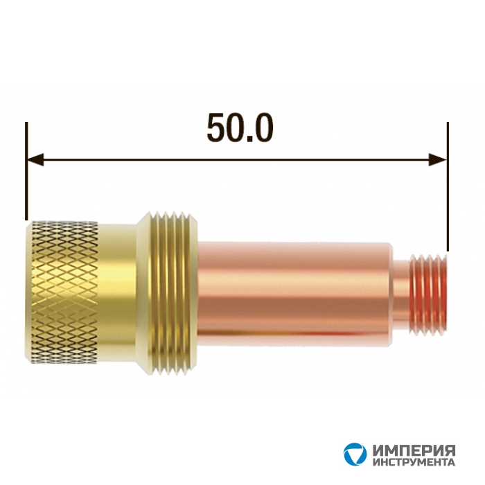 Корпус цанги c газовой линзой FUBAG ф1.6 FB TIG 17-18-26 (5 шт.)