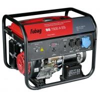 FUBAG Электростанция бензиновая с электростартером и коннектором автоматики BS 7500 A ES