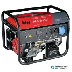 Электростанция бензиновая с электростартером и коннектором автоматики FUBAG BS 7500 A ES
