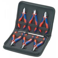 Набор плоскогубцев для работ с электронными компнентами KNIPEX KN-002016