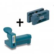 Комплект для снятия свесов кромки Virutex AU93+RC21E