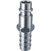 Разъемное соединение FUBAG рапид (штуцер), елочка 10мм с обжимным кольцом 10x15мм, блистер 1 шт