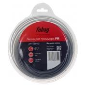 FUBAG Триммерная леска, сечение круглое, L 60 м * 2.4 мм