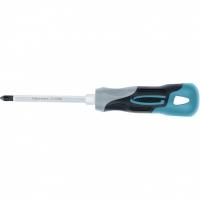Отвертка GROSS PH2 x 100 мм, S2, трехкомпонентная ручка
