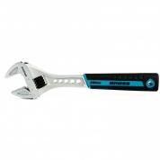Ключ разводной GROSS, 250 мм, CrV, двухкомпонентная ручка