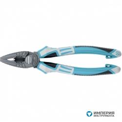 Плоскогубцы комбинированные GROSS 205 мм, трехкомпонентные рукоятки