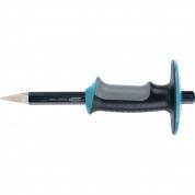 Зубило-керн GROSS, 254 мм, трехкомпонентная эргономичная рукоятка, защитный протектор, антикоррозионное покрытие