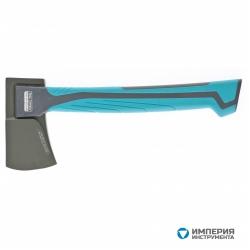 Топор универсальный GROSS 700 гр, кованый, тефлоновое покрытие, двухкомпонентное пластиковое топорище, 350 мм