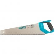 "Ножовка по дереву GROSS ""PIRANHA"", 450 мм, 7-8 TPI, зуб-3D, каленый зуб, двухкомпонентная рукоятка"