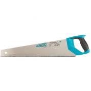 "Ножовка по дереву GROSS ""PIRANHA"", 500 мм, 7-8 TPI, зуб-3D, каленый зуб, двухкомпонентная рукоятка"