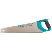 "Ножовка по дереву GROSS ""PIRANHA"", 450 мм, 11-12 TPI, зуб-3D, каленый зуб, двухкомпонентная рукоятка"