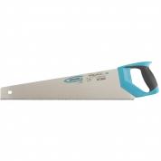 "Ножовка по дереву GROSS ""PIRANHA"", 500 мм, 11-12 TPI, зуб-3D, каленый зуб, двухкомпонентная рукоятка"