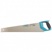 "Ножовка по дереву GROSS ""PIRANHA"", 550 мм, 11-12 TPI, зуб-3D, каленый зуб, двухкомпонентная рукоятка"