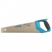 "Ножовка по дереву GROSS ""PIRANHA"", 400 мм, 7-8 TPI, зуб-3D, каленый зуб, двухкомпонентная рукоятка"