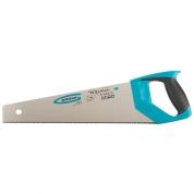 "Ножовка по дереву GROSS ""PIRANHA"", 400 мм, 11-12 TPI, зуб-3D, каленый зуб, двухкомпонентная рукоятка"