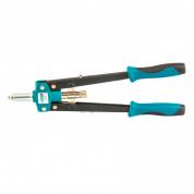 Заклепочник двуручный GROSS 420 мм, двухкомпонентные рукоятки, для заклепок 2,4-3,2-4,0-4,8