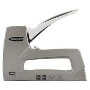 Степлер GROSS мебельный (Aluminium 140), алюминиевый корпус, регулятор удара, тип скобы 140, 300, 6-14 мм