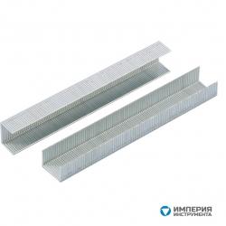 Скобы GROSS, 6 мм, для мебельного степлера усиленные, тип 53, 1000 шт