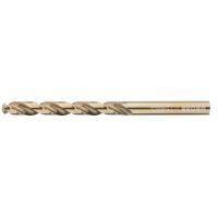 Сверло спиральное по металлу GROSS, 10 мм, HSS-Co