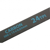 Полотна для ножовки по металлу GROSS, 300 мм, 24 TPI, Carbon, 2 шт