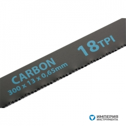 Полотна для ножовки по металлу GROSS, 300 мм, 18 TPI, Carbon, 2 шт