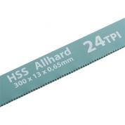 Полотна для ножовки по металлу GROSS, 300 мм, 24 TPI, HSS, 2 шт