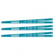 Полотна для ножовки по металлу GROSS, 300 мм, 18 TPI, HSS, 2 шт