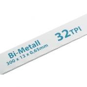 Полотна для ножовки по металлу GROSS, 300 мм, 32 TPI, BiM, 2 шт