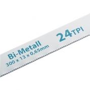 Полотна для ножовки по металлу GROSS, 300 мм, 24 TPI, BIM, 2 шт