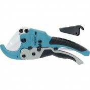 Ножницы GROSS для резки изделий из ПВХ, D до 45 мм, обрезиненные рукоятки, рабочий стол для плоских изделий