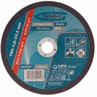 Круг отрезной по металлу GROSS, 180 х 1,8 х 22,2 мм