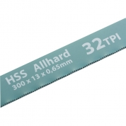 Полотна для ножовки по металлу GROSS, 300 мм, 32 TPI, HSS, 2 шт