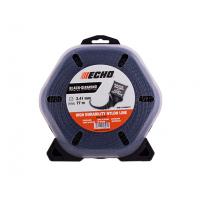 Корд триммерный Echo Black Diamond 2,4 мм*77 м
