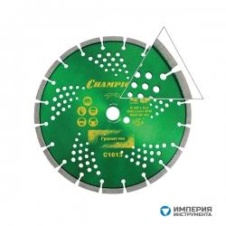 Диск алмазный Champion Laser Granitek PRO 300/25.4/10 (гранит)